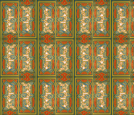 arabesque 17 fabric by hypersphere on Spoonflower - custom fabric