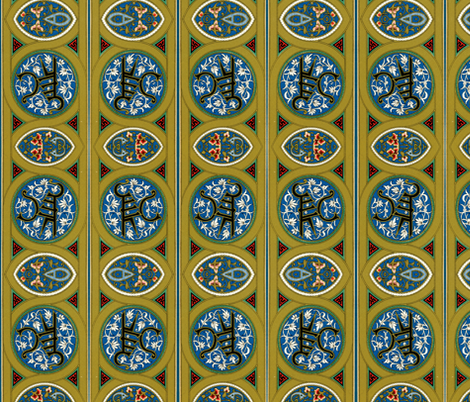 arabesque 20 fabric by hypersphere on Spoonflower - custom fabric