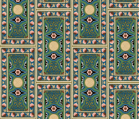 arabesque 27 fabric by hypersphere on Spoonflower - custom fabric