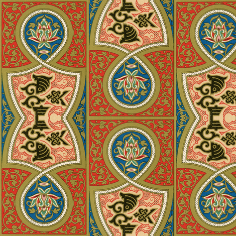 arabesque 28 fabric by hypersphere on Spoonflower - custom fabric