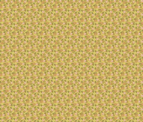 Sugar Flower - Citron fabric by denise_ortakales on Spoonflower - custom fabric