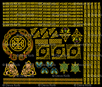 Celtic_Borders_GOLD