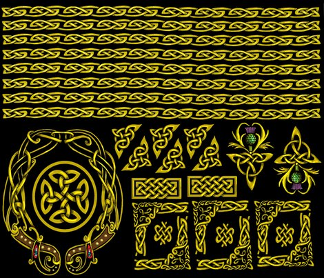 Celtic_borders_gold_shop_preview
