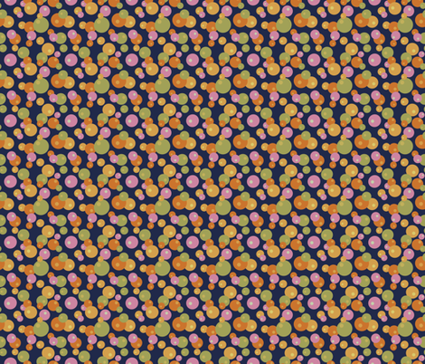 Pops of Fun - Navy fabric by denise_ortakales on Spoonflower - custom fabric