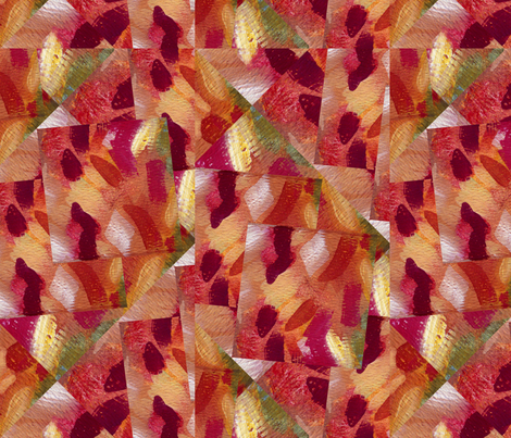 Abstracted_watermelon fabric by thatswho on Spoonflower - custom fabric