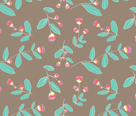 granille beige fabric by meissa on Spoonflower - custom fabric