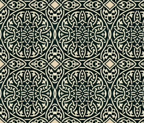 arabesque 35 fabric by hypersphere on Spoonflower - custom fabric