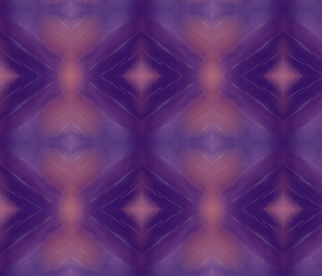 Pale Hearts, Purple Diamonds fabric by mcat711 on Spoonflower - custom fabric
