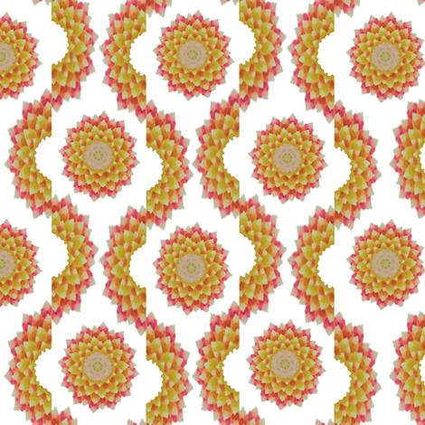 Cactus_wave_6 fabric by karwilbedesigns on Spoonflower - custom fabric