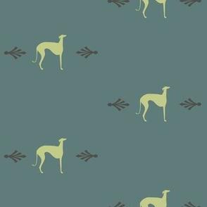 """greyhounds """" Little yellows"""""""