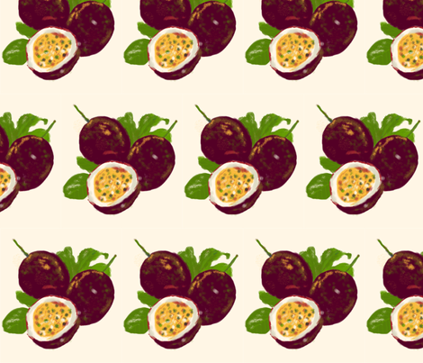 watercolor-fruits fabric by bugs4 on Spoonflower - custom fabric