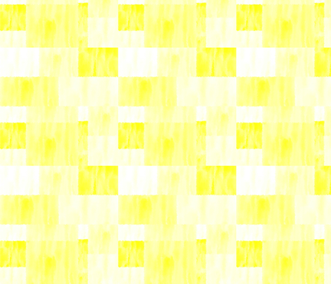 abstract yellow squares and rectangles fabric by pimento on Spoonflower - custom fabric