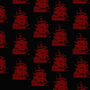 pirate_ship_pattern_red