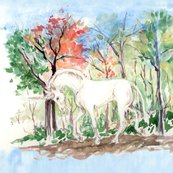 Rrwatercolor_unicorn_in_woods_for_pillow_rev_shop_thumb