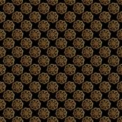 Gold Mandalas on Black