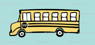 school bus fabric