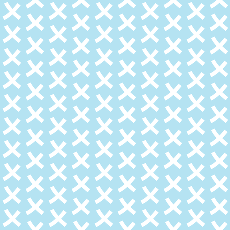 giraffe-collection---x blue fabric by lilcubby on Spoonflower - custom fabric