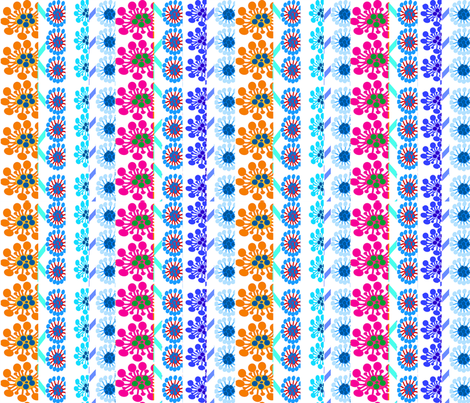STRIPED_FLOWERS_241_TIMES_4B_ fabric by soobloo on Spoonflower - custom fabric