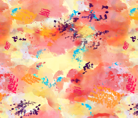 watercolor_abstract fabric by margotbevi on Spoonflower - custom fabric