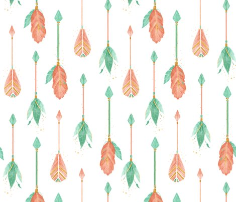 Rwatercolor_arrows1_spoonflower_shop_preview