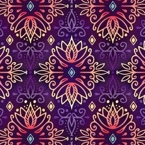 Lotus Deco - Purple Heat