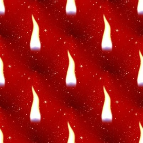 the christmas flame