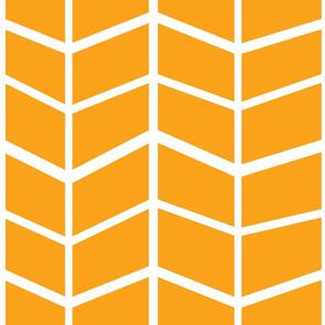 OrangeHerringbone