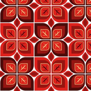 Leaf blocks red