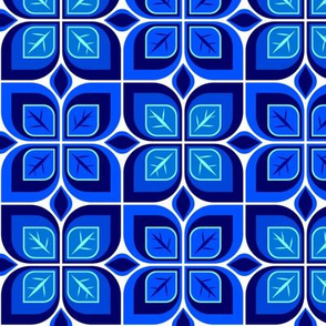 Leaf blocks blue