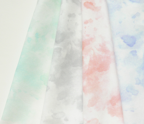Watercolor Splashes (grey)