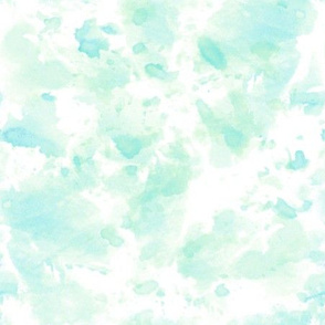 Watercolor Splashes (mint)