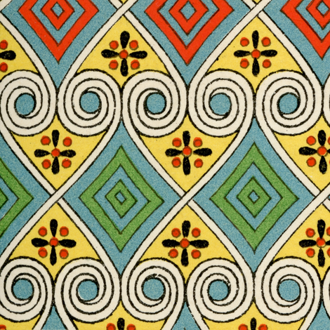 egyptian 7 fabric by hypersphere on Spoonflower - custom fabric