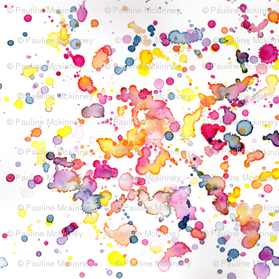 love to play watercolor abstract