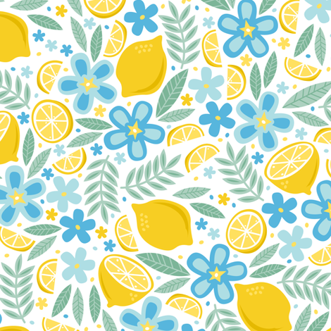 Summer Afternoon fabric by robyriker on Spoonflower - custom fabric