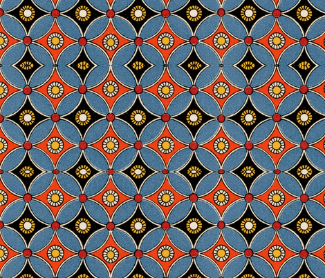 egyptian 11 fabric by hypersphere on Spoonflower - custom fabric