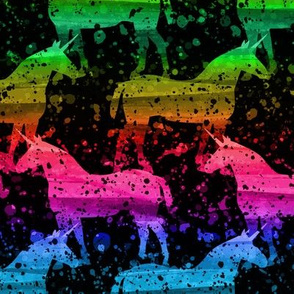 Midnight Unicorn (Rainbow)