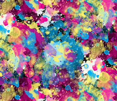 splatter fabric by fattcheese on Spoonflower - custom fabric