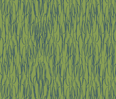 Vanilla Pods fabric by zoe_ingram on Spoonflower - custom fabric