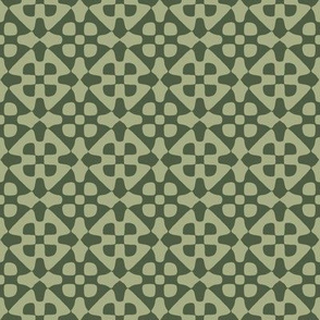 diamond checker in sage and olive