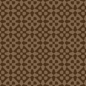 diamond checker - chocolate brown