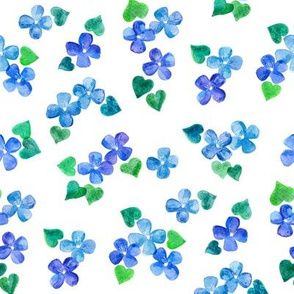 Little Blue Flower Love