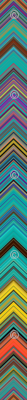 CHEVRON 1 LAMP PSYCHEDELIC FEVER EMERALD TEAL