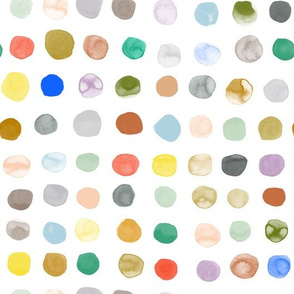 Big Watercolor Dots