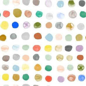 Big Watercolor Dots