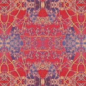 royal red and blue