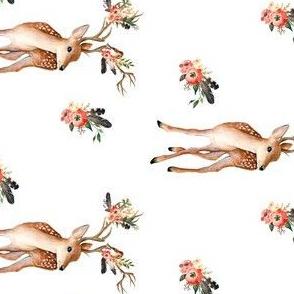 """4"""" Western Aztec Deer"""