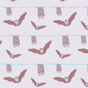 Pastel goth bats