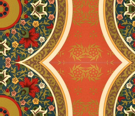 indo-persian 1 fabric by hypersphere on Spoonflower - custom fabric