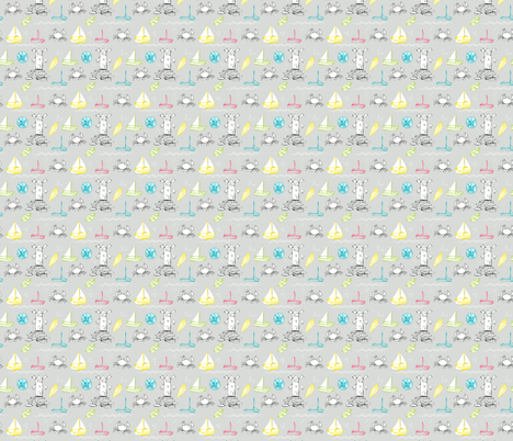 summer fabric by youdesignme on Spoonflower - custom fabric
