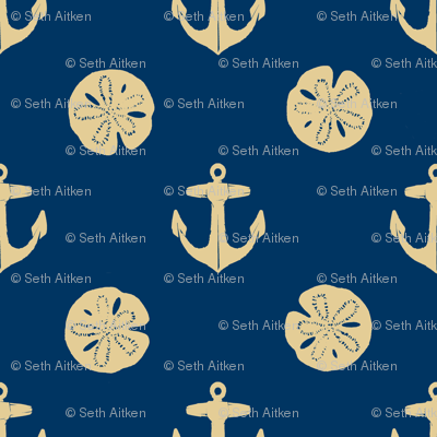 anchors_and_sandollars_khaki_on_navy